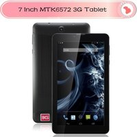 buy cheap android tablet - 3G Tablet MTK6572 Tablet PC inch Capacitive Android dual sim Mobile Phone call Build in Bluetooth GPS DHL FREE buy TOP CHEAP