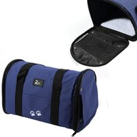 Wholesale Pet Dog Cat Puppy bag Portable Travel Carrier Tote Bag Handbag Crates Kennel Luggage Oxford Hot