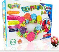 Wholesale 100 corn magic toys educational blocks novelty toys DIY magic corn creative play house
