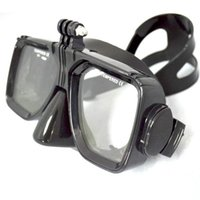 Wholesale 2015 Gopro accessories Diving mask with Gopro sports camera mount for Gopro hero