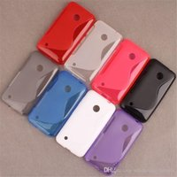 best iphone s case - Best Quality S Line TPU soft Phone Case Cover For iPhone Samsung LG Motorola Nokia Sony HTC BB Alcatel Huawei ZTE Wiko Blu Stock color