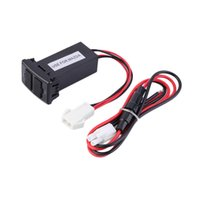 Wholesale New Dual USB AUX Ports Dashboard Mount Fast Charger V for MAZDA Car Brand New