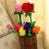 big lots curtains - big size Cloth art rose plush toys spend curtain buckle color to choose