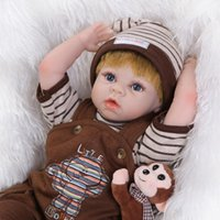 Unisex Birth-12 months Silicone Reborn Dolls Collection Handmade Realistic Silicone Alive Baby Doll 22 Inch 55 cm baby-reborn kits for sale