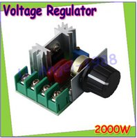 Wholesale 1Pcs W SCR Voltage Regulator Dimming Dimmers Speed Controller Thermostat AC V Drop