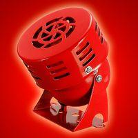 Wholesale 1pc V MS190 Mini Metal Alarm Buzzer Alarm Siren Motor rev sec Speed for Passenger Cars Ships Warehouse ect