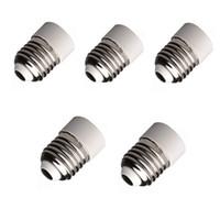 Plastic E12 Yes 5Pcs E27 to E14 Base Socket Adapter Converter Holder For LED Light Lamp Bulbs order<$15 no tracking