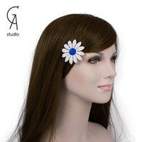 Cheap Daisy hairpins Best Hair Accessories