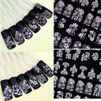 art nail pic - 108 Pics Pretty D Flower Nail Art Stickers Tips Decal Flower Tip Decoration Sticks Nail Art Large Size