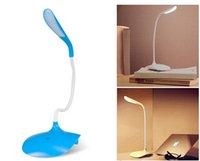 best table lamp for reading - LED bulbs white light desk lamp flexional rechangeable touch sensor fashion table light best novelty gift reading for bedroom