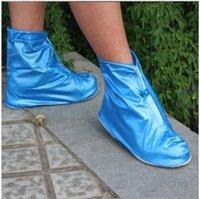 Wholesale Fashion short tube waterproof shoe covers Men and women antiskid galoshes