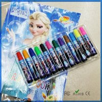 Wholesale 2015 new Frozen Baby Suits Watercolor Pen P Colouring pictures P Color Stickers Kids Holiday Gift