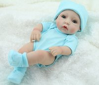 Wholesale Handmade Alive Baby Dolls Washed Inch Mini Reborn Boy Babies Toy For Kids