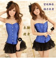 Cheap Diamond strapless corset court abdomen breast care vests gathered waist shapewear bra thin clothing Body