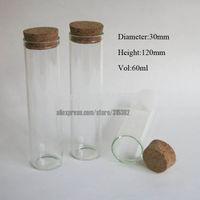Cheap Glass glass cork bottle Best Cork Yes glass tube