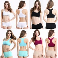 Wholesale New Lady Crop Tops Padded Athletic Vest Fitness Outdoor Sports Stretch Sport Bras For Women Wholesales