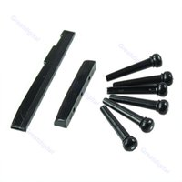 Wholesale B39Hot Sell Acoustic Guitar Bridge Pins Saddle Nut Parts