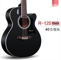 Wholesale 40 inch inch folk guitar wood guitar beginners beginners instrument jita electric guitar acoustic guitar Tuners closed knob