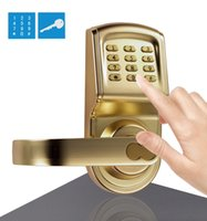 Wholesale ASSA ABLOY DIGI Digital Electronic Keypad Door Password Machanical Keys Intersected Gold