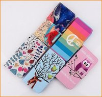 leather owl purse - For iphone Wallet Leather stand Case For Iphone Plus Eiffel Tower OWL Night Bird Fish Rainbow Tree Flower Purse Soft TPU Pouch