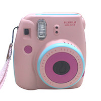Wholesale 2016 Original Fujifilm Instant Camera instax mini8 mini passion three colors Pink Blue Hello Kitty