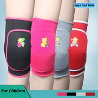 knee brace and support - Sports Leg Knee Support Brace Wrap Protector Pads Sleeve Cap For Children Girls and Boys