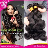 Wholesale 7A Grade Brazilian Virgin Hair Extension Brazilian Body Wave Human Hair Weave Unprocessed Brazilian Virgin Hair Body Wave Bundle