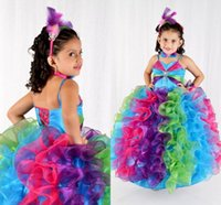 Cheap girls pageant dresses Best rhinestone beaded gowns