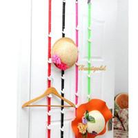 Wholesale Adjustable Door Strong Bag Belt Hat Hanger Rope for Clothes Accessories