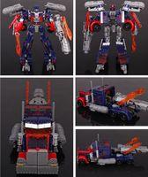 Wholesale Optimus Prime Megatron Transformation Robots cm VOYAGER Action Figures Classic Toys for boy s gifts with original box