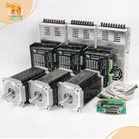 best cnc kit - Best selling CNC Router kits Axis Nema Stepper Motor oz double shaft CNC Router Mill