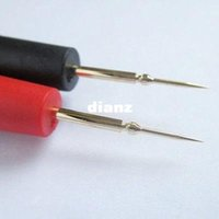 Wholesale High Quality Pair Universal Needle Tip Probe Test Leads Pin For Digital Multimeter Meter Tester