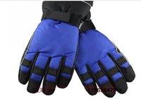 Wholesale 2016 Men Women lovers ski gloves men s ski gloves warm gloves fingers gloves L XL
