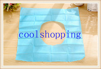 Wholesale DHL Freeshipping Disposable Toilet Seat Lid Covers Paper WC Banheiro Accessories