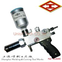 Wholesale Shanghai QHT h high speed flame spray gun oxygen acetylene or propane gas and metal powder spray welding spray painting torch