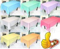 Wholesale High Quality factory price cm PVC Table Cloth Plastic Waterproof Oil Dining white Tablecloth Coffee kitchen Table Cover