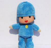 bandai wholesale - BANDAI Plush cm Pocoyo Plush Doll Large Doll Lovely Pato Elly Cartoon Figure Toys