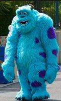 adult gorilla suit - Adult Size Plush Gorilla Mascot Costume Blue Gorilla Cartoon Holiday Fancy Dress Birthday Party Suit