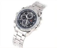 Wholesale hot Silver GB waterproof Wrist Watch HD Hidden video Camera DV