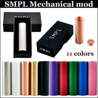 Cheap SMPL Mod Full Mechanical Mod Clone Vaper mod Various Colors 18650 mod 510 Thread sub tank mods vs Nemesis vape mods