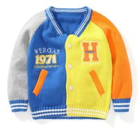 Wholesale Children s clothes And children s sweaters The European and American wind favors the baby sweater brand children s clothing manufacturers se