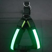 Wholesale Xmas Gift Dog Tether Leashes Safety Dog Pet Belt Glow LED Flashing Light Pet Harness Leash Best price