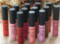 Wholesale Makeup Lip Gloss NYX Soft Matte Lip Cream Lip Gloss Lipstick Vintage Long Lasting NYX Lip Gloss