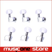 Wholesale 3R3L Chrome Body Pearl Cap Guitar Machine Heads Tuners for guitar parts MU0477