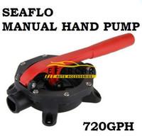 Wholesale 720 GPH v Seaflo Boat Marine Manual Water Bilge Pump for pumping bilge water saltwater or diesel transfer