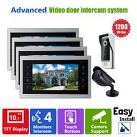 apartment security cameras - YSECU Door Video Camera Video Doorbell System with Pinhole Camera MM Lens Security TVL V1V1 Home Apartment Entry Kit