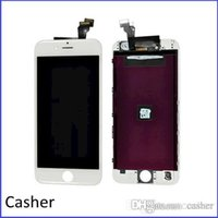 Wholesale 10pcs x White Front LCD Touch Screen Digitizer Assembly Frame for iPhone quot Free DHL
