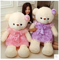big love family - 2015 HOT SALE cm big teddy bear plush toys stuffed toy valentine gift Factory Price BEST GIFT FOR FRIEND LOVE FAMILY