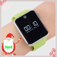 best kids alarm clock - 2016 new Smart Fashion Nice Design Best Discount Wrist Watch sim card slot phone call watch with bluetooth alarm clock anti lost Q1f