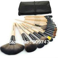 Wholesale Makeup Brushes Professional Makeup Brush Set tools Make up Toiletry Kit Wool Brand Make Up Brush Set Case Cosmetic brush